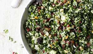 Green Herb Cauliflower 'Tabbouleh' from The A-Z of Eating