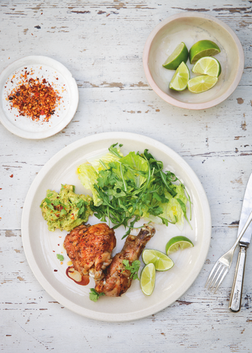 Tequila and Lime Chicken from Simply Nigella by Nigella Lawson