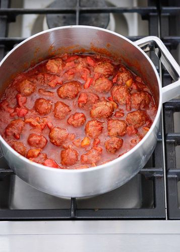 Nigella Lawson's easy Merguez Meatballs