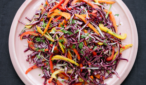 Sweet and Sour Slaw from Simply Nigella by Nigella Lawson