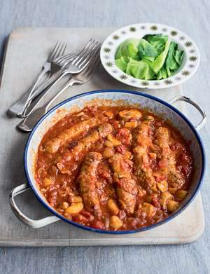 Sausage and Beer Casserole