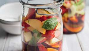 Pimm's Fruit Salad
