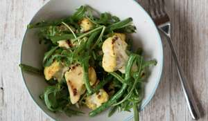 Cauliflower, Ginger and Turmeric Salad