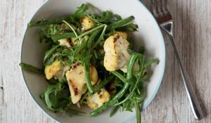 Cauliflower, Ginger and Turmeric Salad