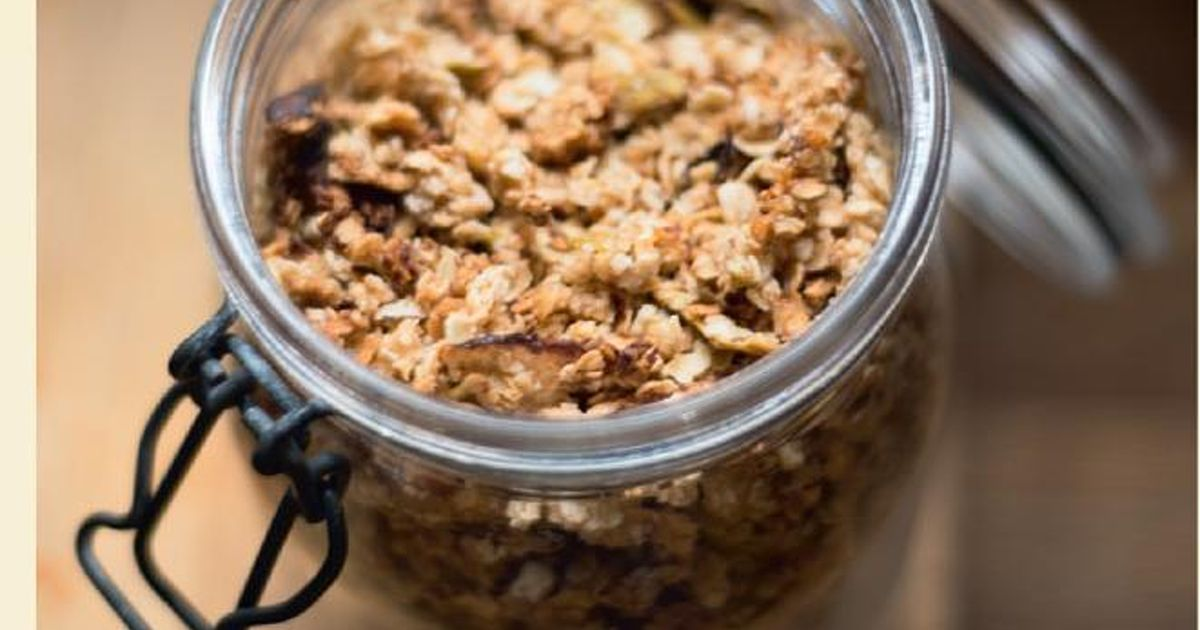 Apple Crumble Cake Recipe Jamie Oliver: Apple Crumble Granola