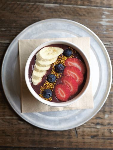 Acai Bowl from The Good Life Eatery Cookbook