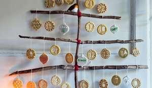 Make Your Own Advent Calendar | Christmas Baking Recipe GBBO