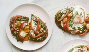 Pizza Toasts | Breakfast Recipe