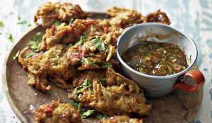 Ainsley Harriott Okra Onion Bhaji | ITV Ainsley's Caribbean Kitchen