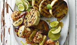 Ainsley Harriott's Easy Griddled Yams | Ainsley's Caribbean Kitchen ITV