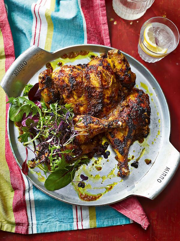 how to spatchcock chicken Ultimate Jerk ChickenfromAinsley's Caribbean Kitchenby Ainsley Harriott