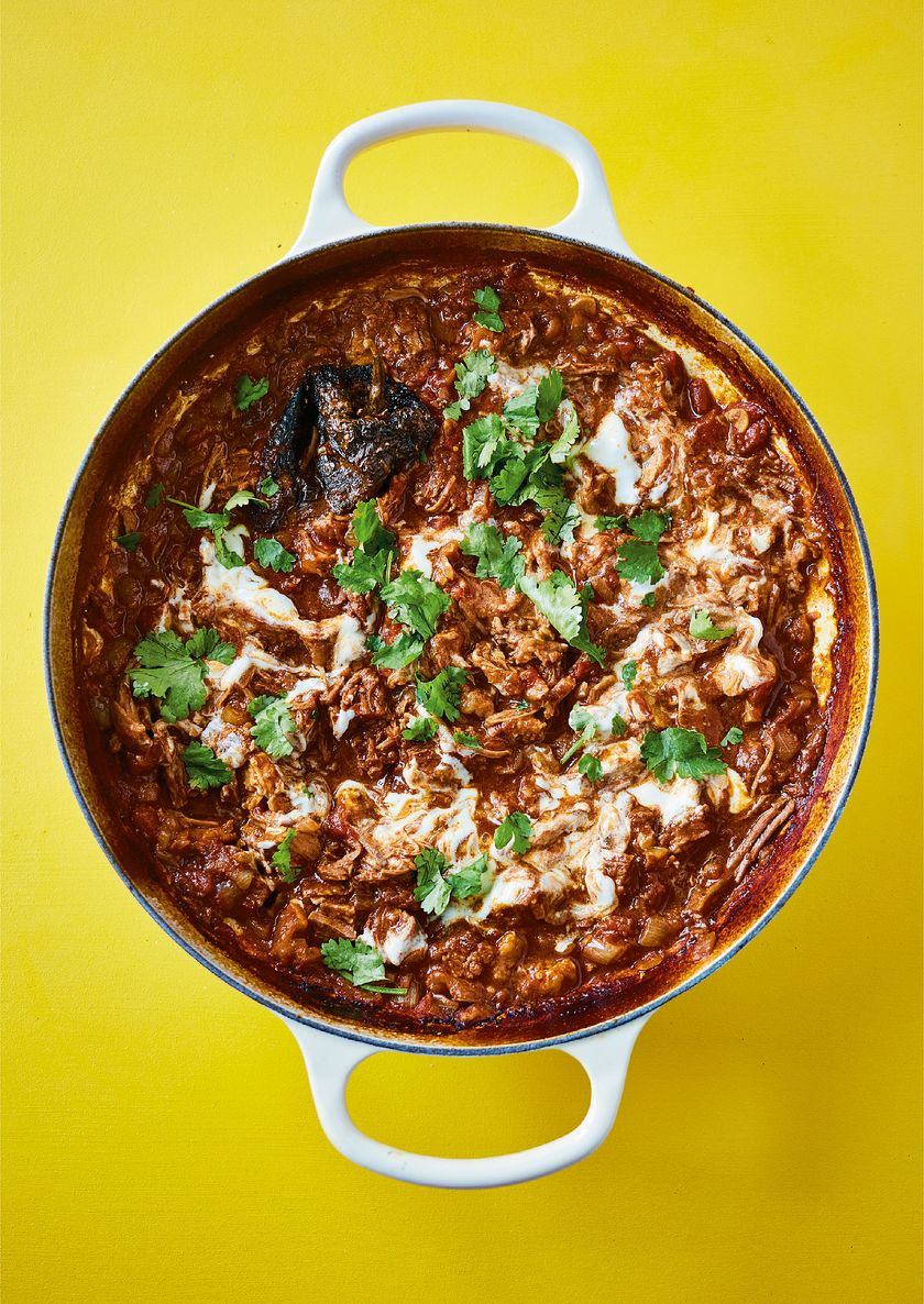 One-pot Mexican Beef Chilli | The Roasting Tin Around the World