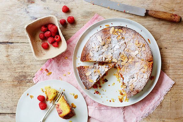best mothers day cake recipes almond polenta cake with raspberries grains as mains