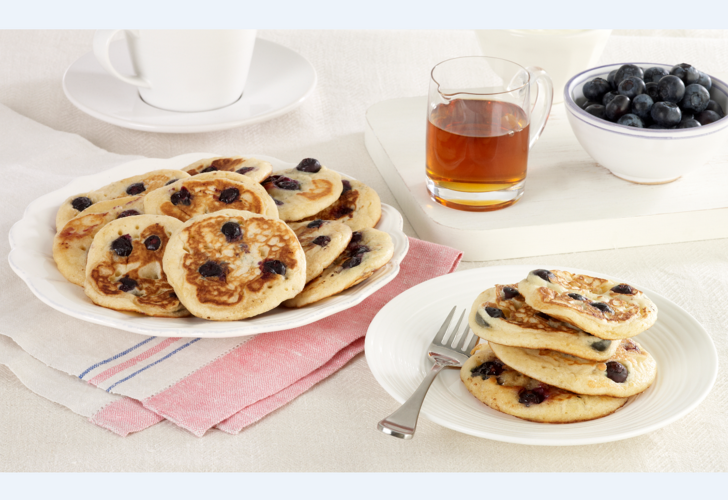 American Blueberry Pancakes