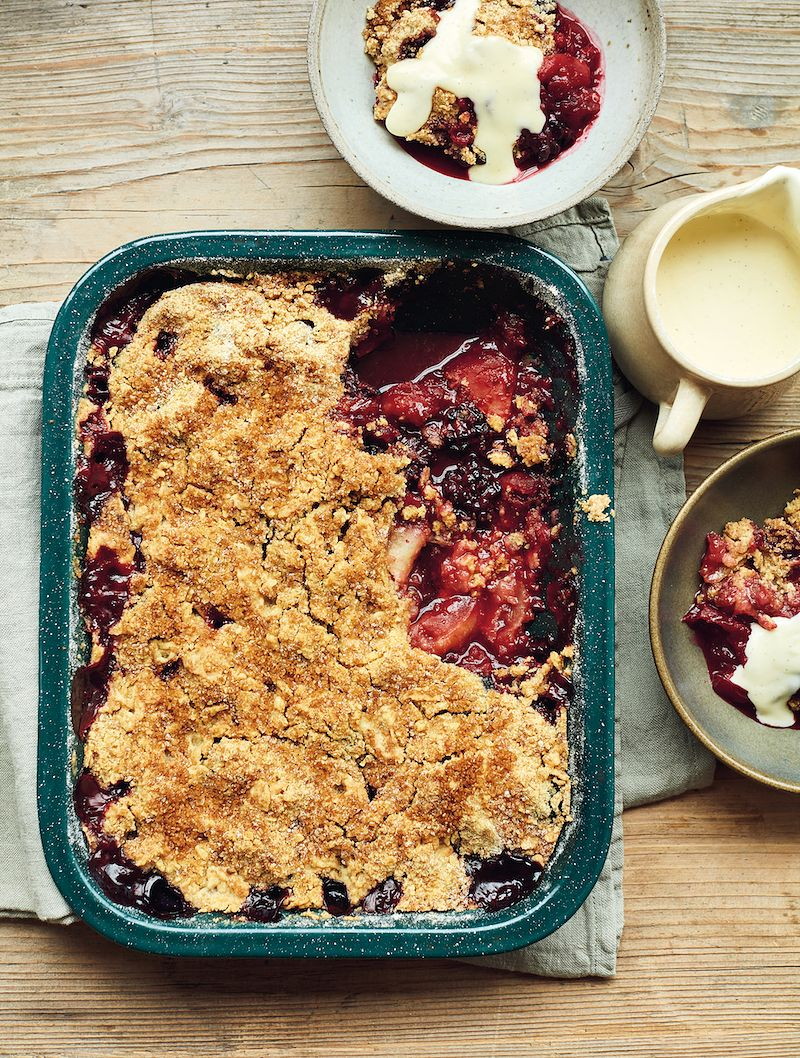 best mary berry winter recipes apple and blackberry crumble simple comforts