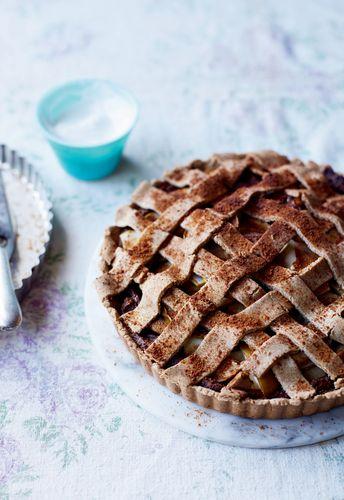 Nut-free Apple Pie from Livia's Kitchen