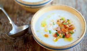 Jerusalem Artichoke Soup (Potage de topinambours à la provençale)