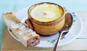 Baked Eggs (Oeufs en cocotte)