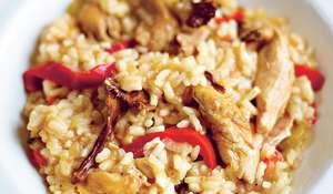 Chicken Risotto (Risotto alla sbirraglia)