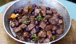Beef and Wine Stew with Black Olives (Bœuf à la gardiane)