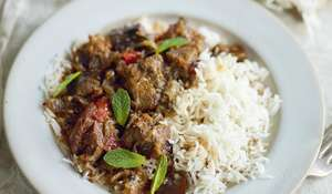 Lamb and Aubergine Stew