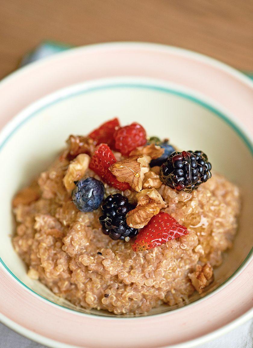 Easy Grain Store Cupboard Recipes | Quinoa Porridge