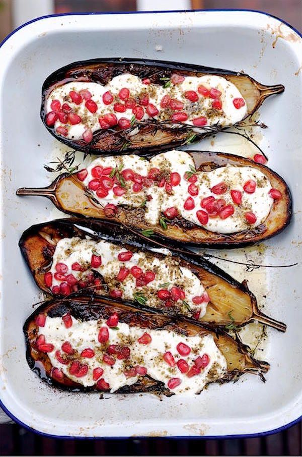 aubergine bake