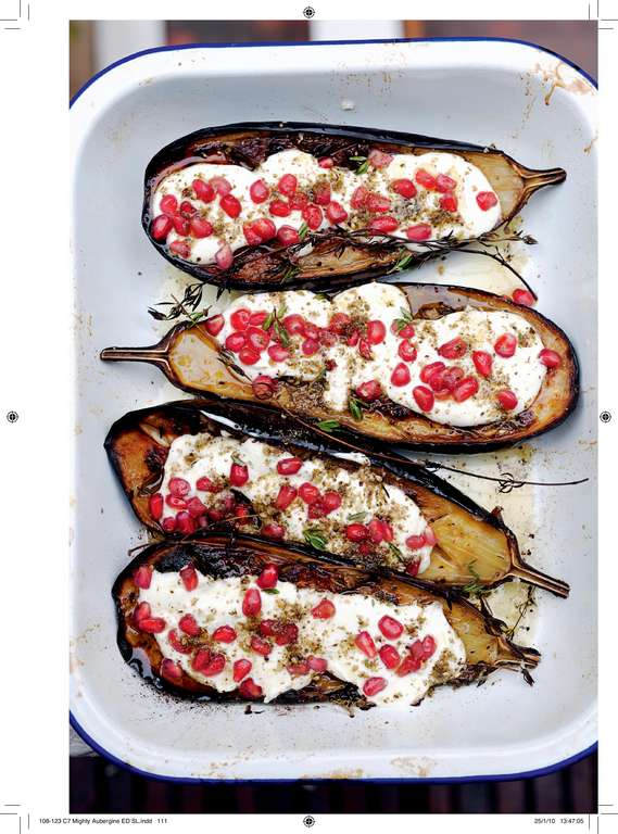 Aubergine with Buttermilk Sauce