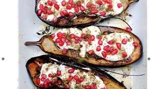 Aubergine with Buttermilk Sauce