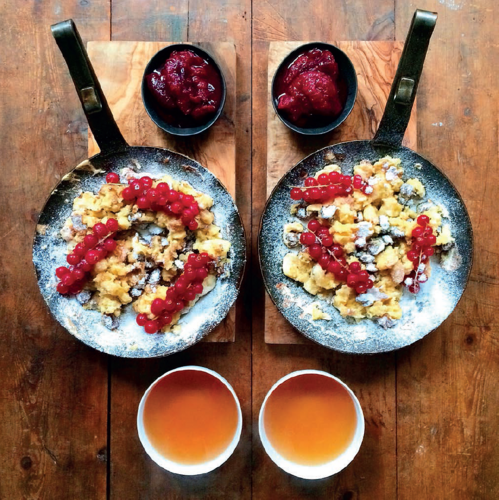 Shredded Austrian Pancake, or Kaiserschmarrn from Symmetry Breakfast