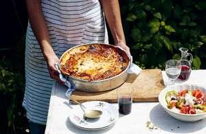 Authentic Greek Cypriot Moussaka Recipe | Taverna by Georgina Hayden
