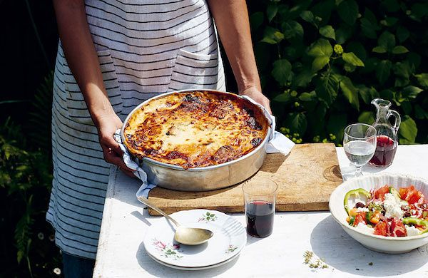 best recipes 2019 georgina hayden classic moussaka taverna cookbook