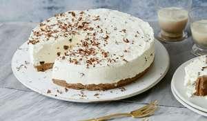 Six-Minute Baileys Cheesecake | Christmas Dessert Recipe
