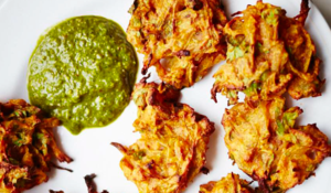 Meera Sodha Baked Onion Bhajis | Healthy Indian Snack Alternative