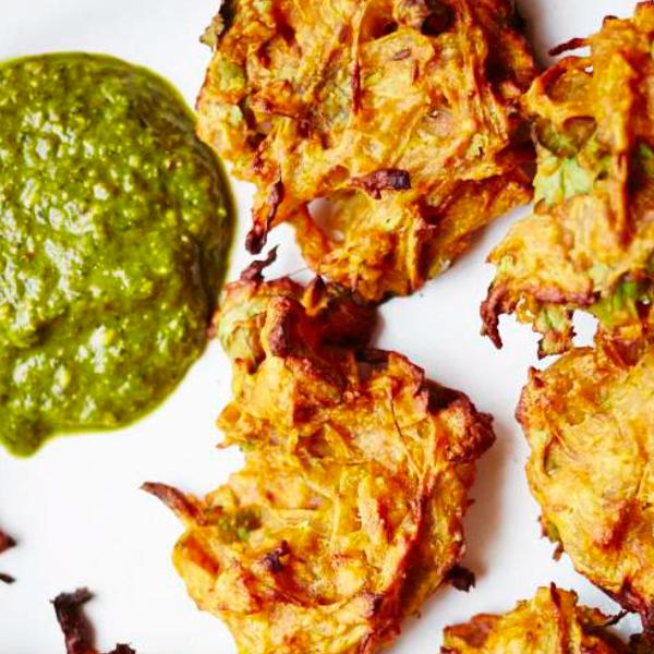 Baked onion bhajis pyaz ke pakore the happy foodie baked onion bhajis pyaz ke pakore forumfinder Gallery