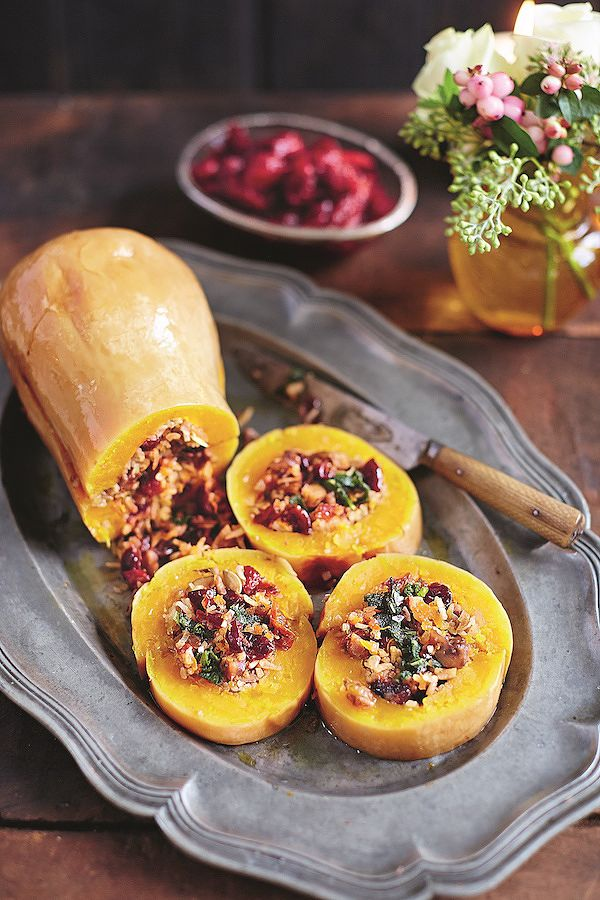 jamie oliver best vegetarian christmas recipes baked squash jamie's christmas
