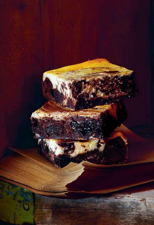 Chocolate Cherry Cheesecake Brownies