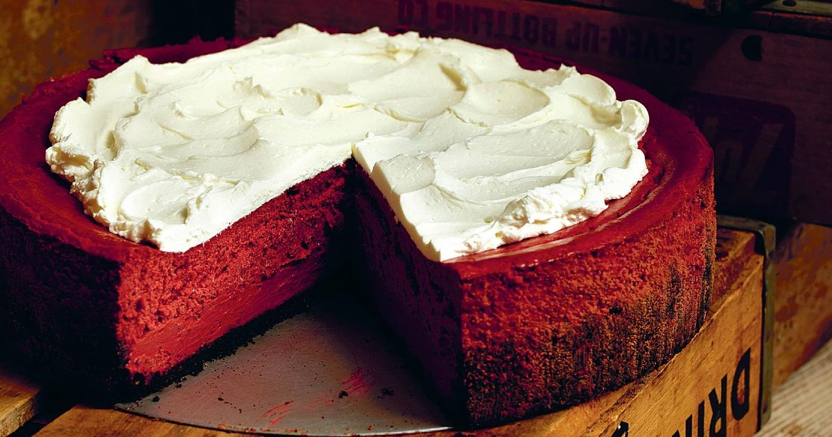 Red Velvet Cake Recipe Uk Mary Berry: Red Velvet Cheesecake