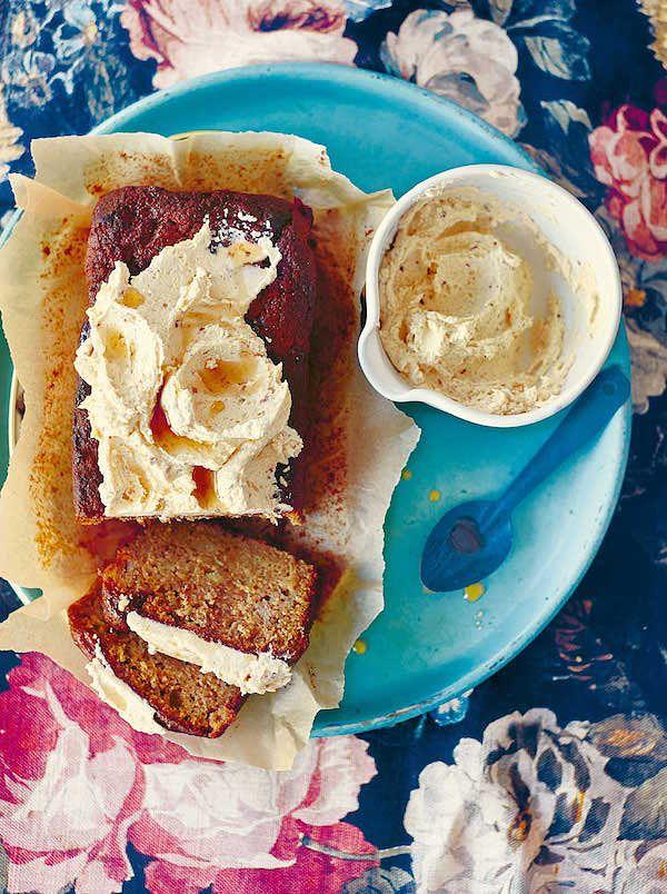 best mothers day cake recipes banana peanut butter cake georgina hayden
