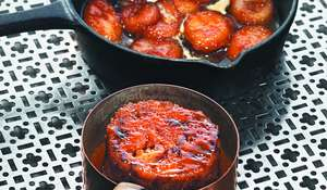 Banana Sticky Toffee Pudding from Marcus Wareing's The Gilbert Scott cookbook