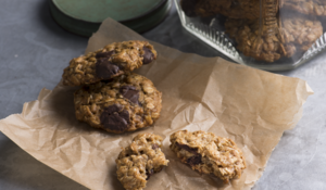 Banana Chocolate-Chip Oat Cookies from Plant-Based Cookbook