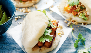 Pumpkin Bao from The New Vegetarian