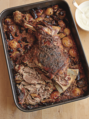 Cumin Slow-roasted Shoulder of Lamb with Couscous from One Pot Wonders
