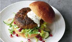 Moroccan Lamb Burgers with Mint Aïoli Recipe Britain's Best Home Cook