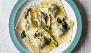 Spinach and Ricotta Ravioli with Sage Butter Recipe Britain's Best Home Cook