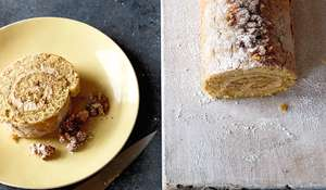 Coffee and Walnut Swiss Roll Recipe Britain's Best Home Cook