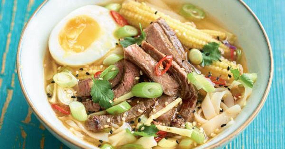 Beef Ramen - The Happy Foodie