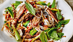 Beef with Lemon Grass and Sichuan Pepper