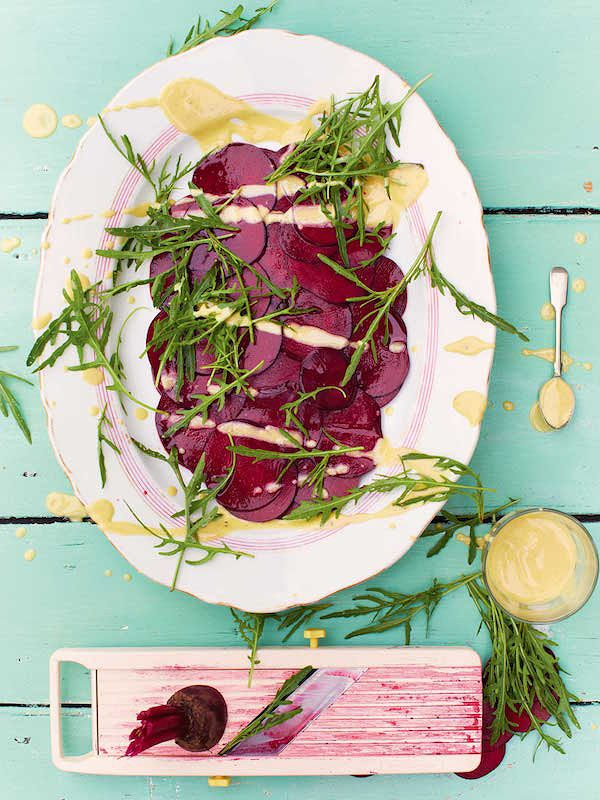 best jamie oliver vegetarian christmas recipes beetroot carpaccio