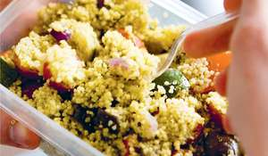 Vegetable Pesto Couscous
